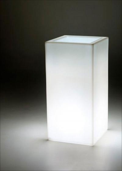 VASO SCHIO CUBO ALTO LIGHT