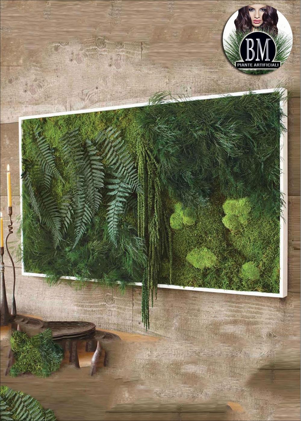 QUADRO Verde Stabilizzato BM , Panoramico BIG (40x140cm)