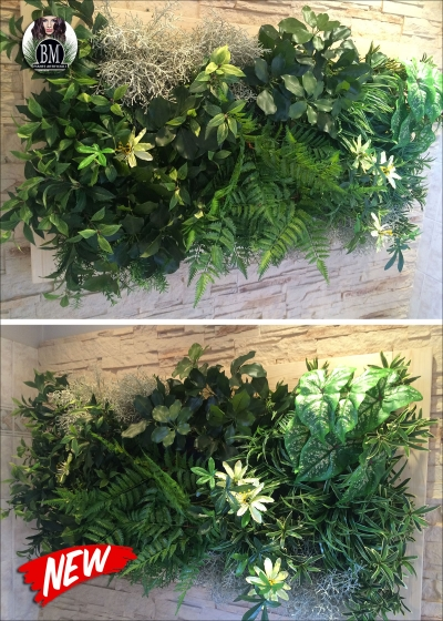 Framework Vertical Garden Artificial - 170x80cm MOD. B With or without frame