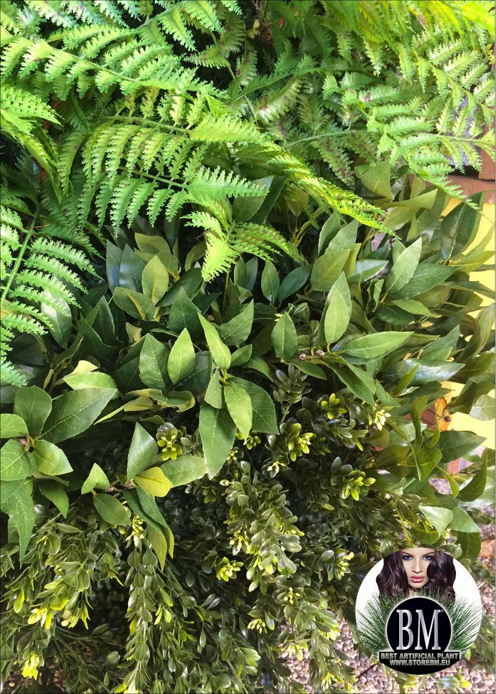 Quadro giardino verticale artificiale 80x80cm mod b for Giardino verticale