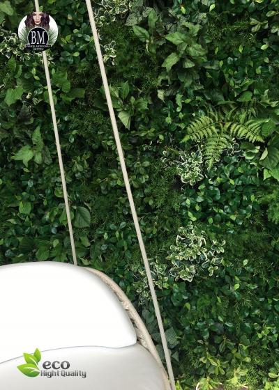 Giardino Verticale ARTIFICIALE LUX™ - Pannelli Assemblabili - CHIAMA PER UN PREVENTIVO