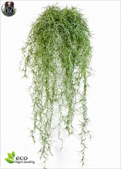 Long Hair Bush VERDE 80cm