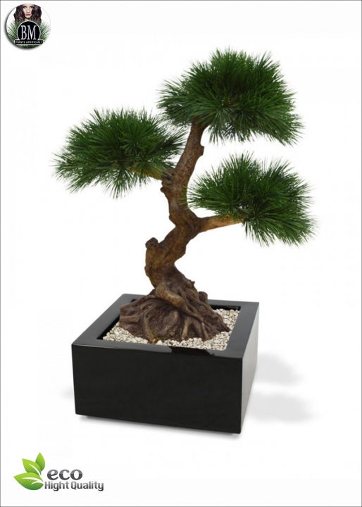 PINUS DELUXE BONSAI 3x 60cm  (tronco artificiale)