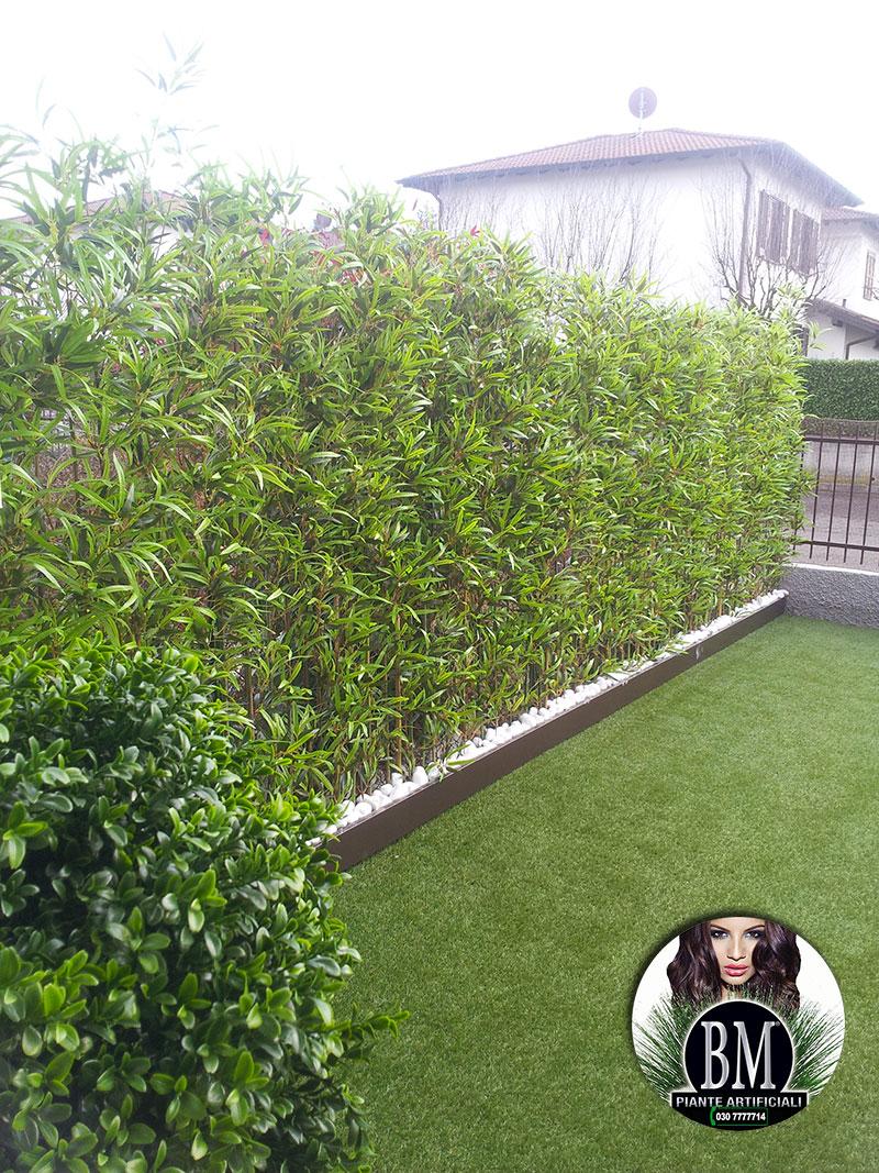 Bambu artificiali bm per esterno - Canne bambu in vaso ...