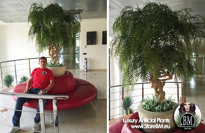 Il gruppo nobili spa sceglie bm piante artificiali for Piante finte da esterno