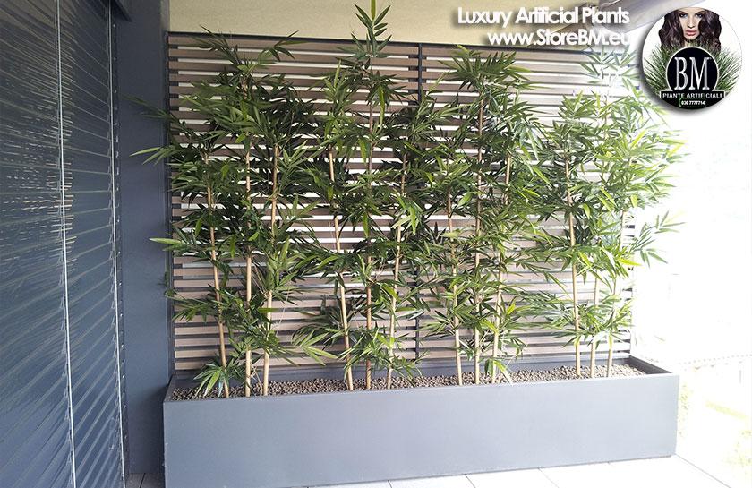 Canne di bambu finte - Canne bambu in vaso ...