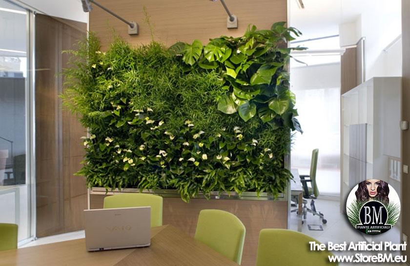 Bm quadri di giardino verticale artificiale - Piante per giardino verticale ...