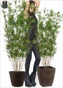 Bambu Artificiale Deco Natural Due Altezze