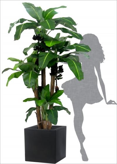 Artificial Banana Plant 3 x H. 230