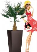 Camerus Palm Artificiale Lux EXT H.100cm