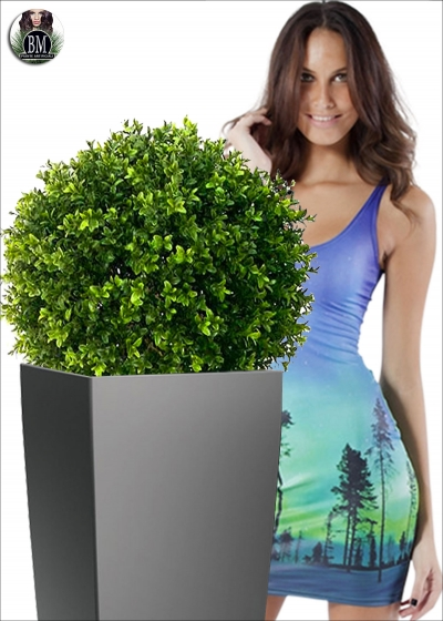 Artificial boxwood Sphera LUX is Resistant to Various External Diameter