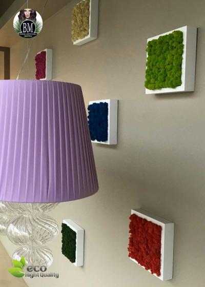 The PICTURE LICHEN FREE (22x22cm) Different Colors - Mono