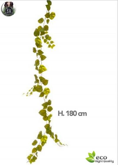 POTHOS GARLAND 180 CM 92-GREEN LEAVES