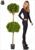 Boxwood LUX Artificial hardy Plant, Outside in 2 Areas, Ø40 and Ø50 H. 165cm