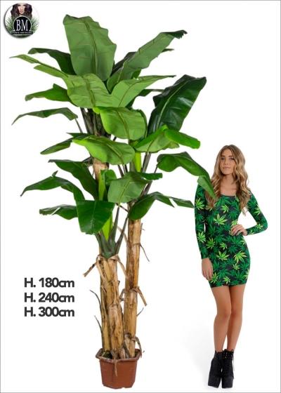 Artificial Banana Plant three new measures