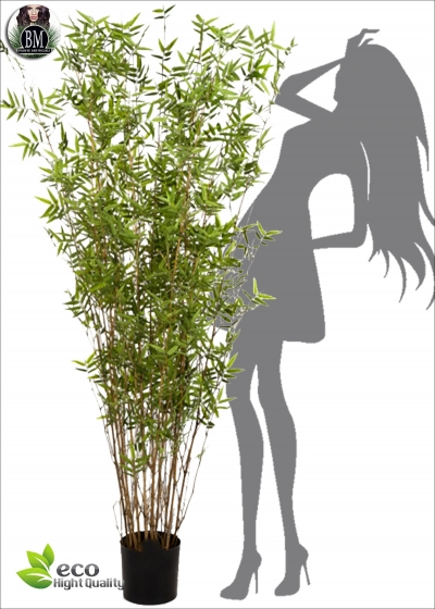 Artificial Oriental bamboo Lux BG six Measures