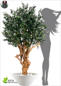 Olivo Artificiale LUX TREE TOBO h 200cm