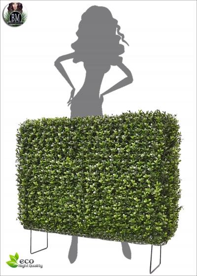 Boxwood Hedge Artificial 80x25x56 cm UV