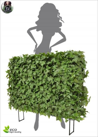 Ivy Artificial Hedge 80x25x56 cm UV