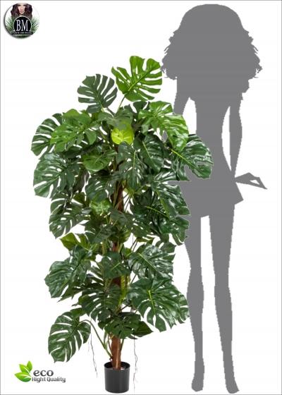 Philodendron Artificiale Plant H. 160cm