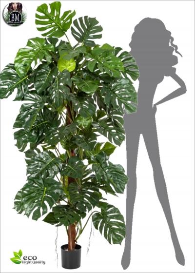 Philodendron Artificiale Plant H. 190cm