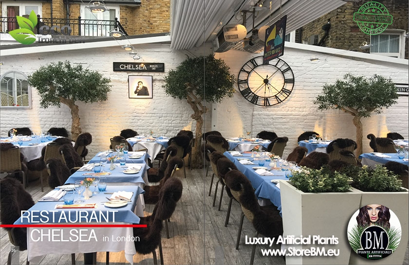 RISTORANTE CHELSEA - LONDON HA SCELTO BM CONTRACT